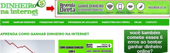 banner topo ao lado do logo