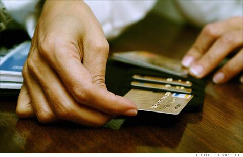Usando cartão de crédito