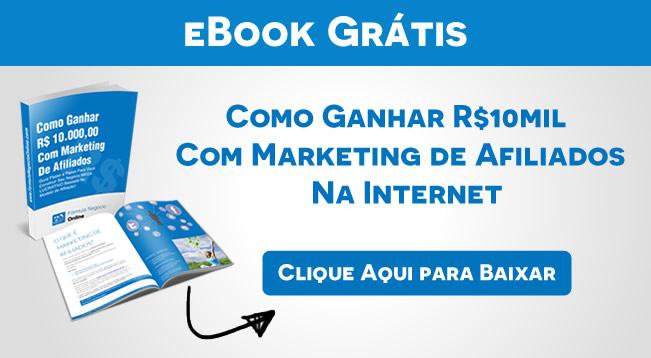 eBook Como Ganhar dinheiro com marketing de afiliados